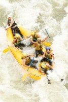 istoc_canstock_group on white water raft